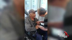 Seniors separated after 60 years together, now reunited